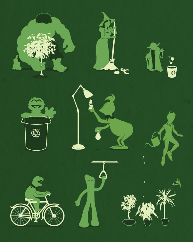 Going Green by davidfromdallas on Threadless