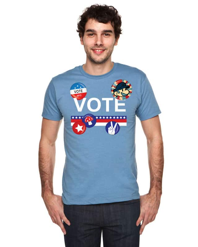 VOTE FOR MUSHROOM by aaangie22 on Threadless