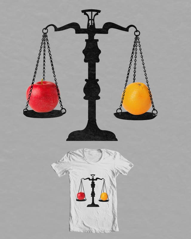 Apples & Oranges by Evan_Luza on Threadless