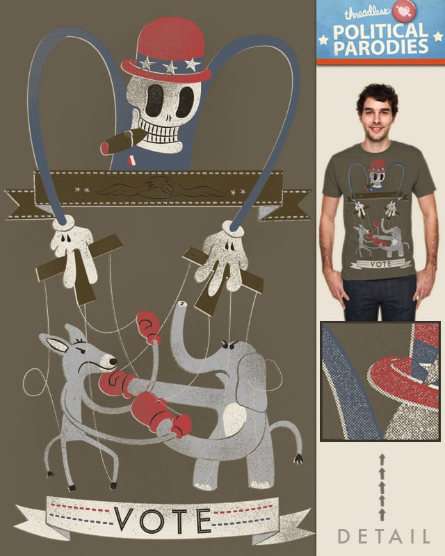 two choices, one puppeteer by Landon Sheely on Threadless