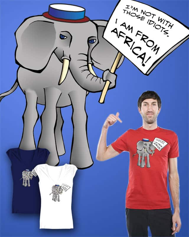 The Elephant by nordinor on Threadless