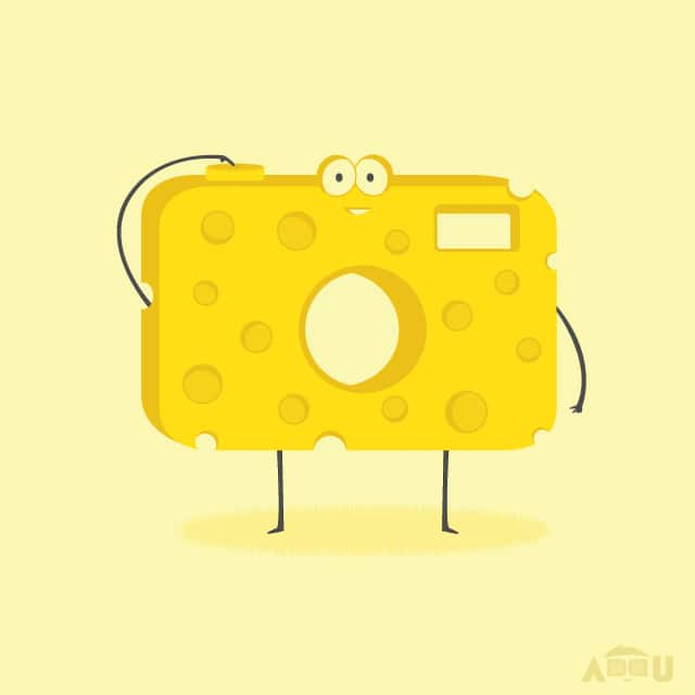 Say CHEESE by addu on Threadless