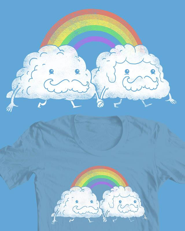 Proud Clouds by queenmob on Threadless