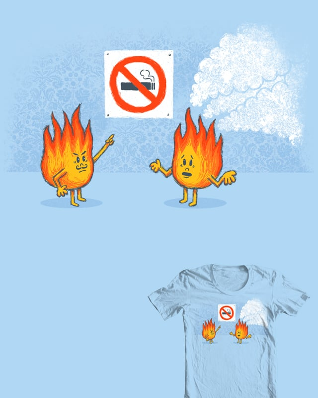 No Smoking Section by CazKing on Threadless