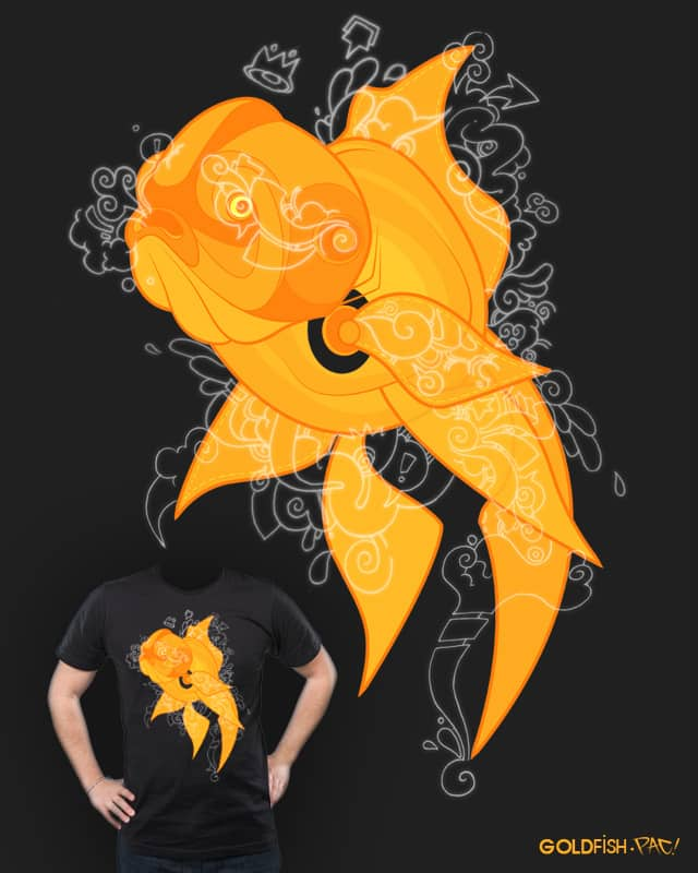 GOLDfish by pacman23 on Threadless