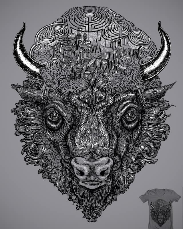 The Minotaur by malo and the whale on Threadless