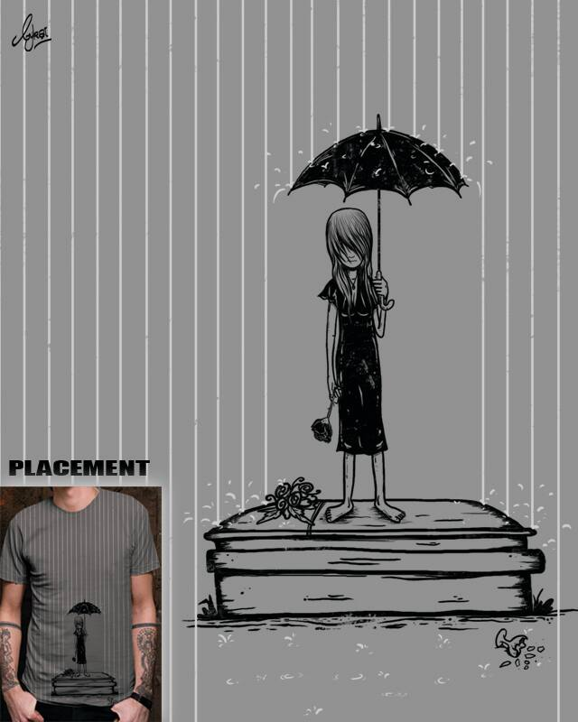 November Rain by bykai on Threadless