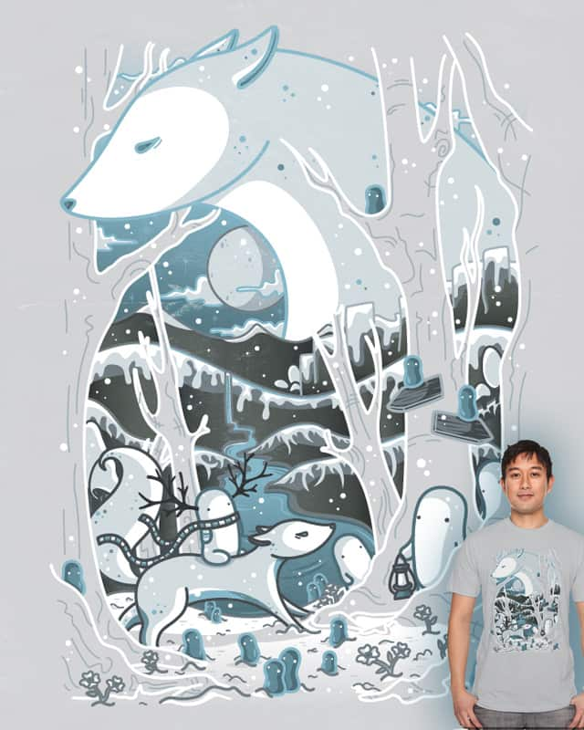 The Great White Wolf by Recycledwax on Threadless