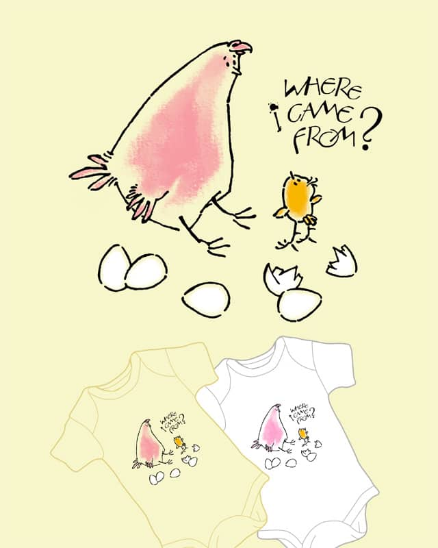 Spring chicken by caxapdesign on Threadless