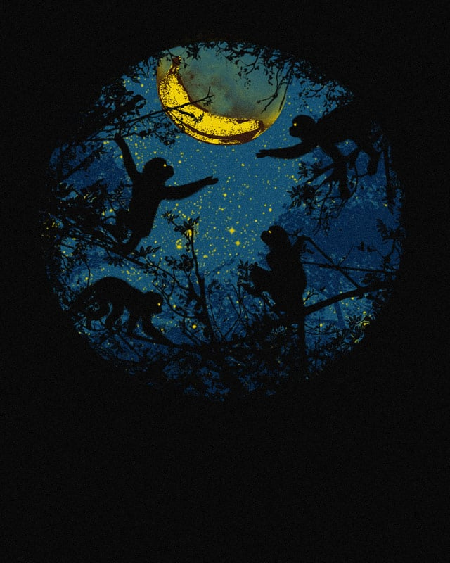 Banana Moon by kooky love on Threadless