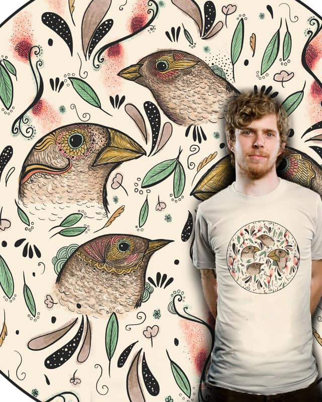 Fine Finches by nicholelillian on Threadless
