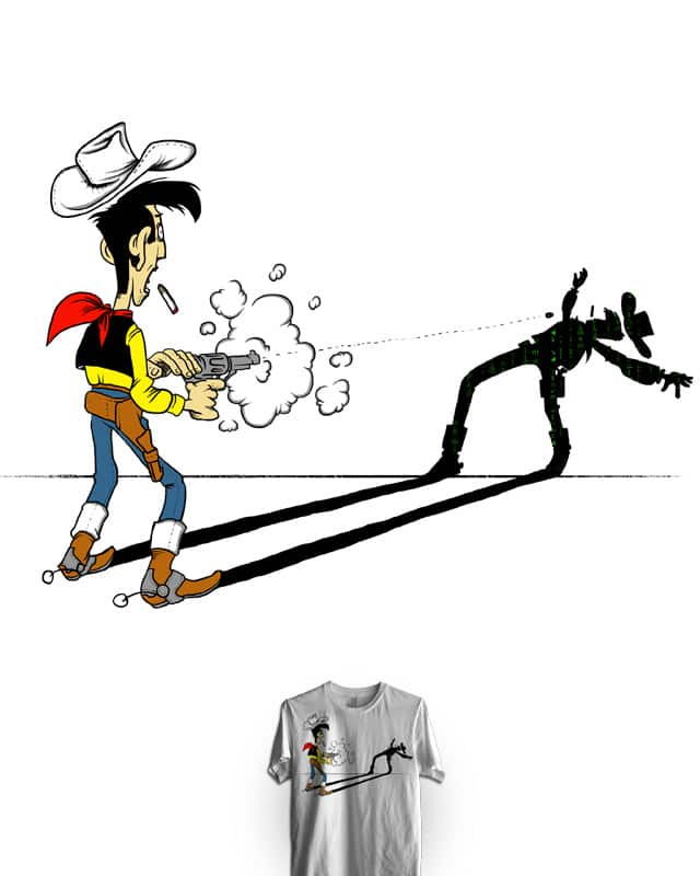 bullet time! by dm.seven on Threadless