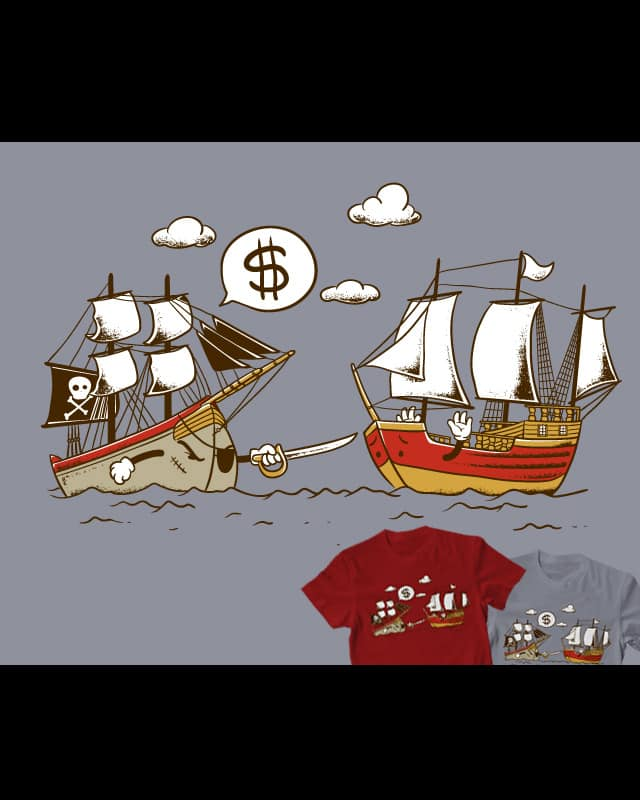 Pirate by Flying Mouse on Threadless