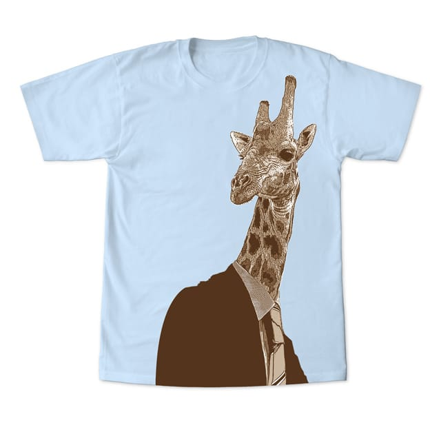 Giraffage by Lazuli Creative on Threadless