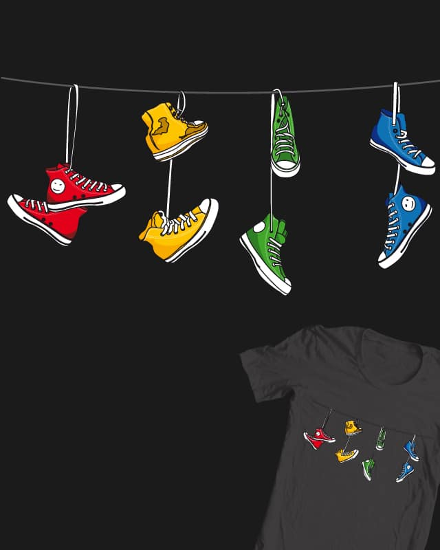 Air shoes by DonnieArt on Threadless