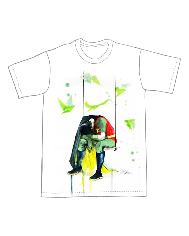 DEPRESSIVE ROBIN by Lora Zombie on Threadless