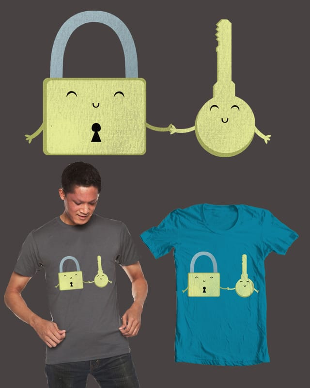 Key To My Heart by Evan_Luza on Threadless