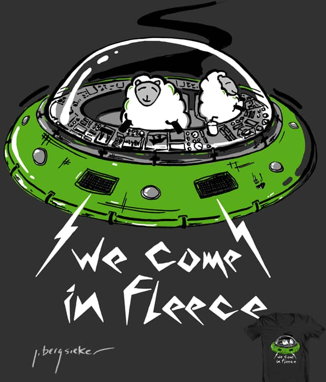 Space Sheep by NomadSlim on Threadless