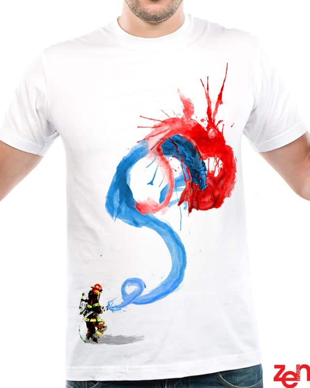 FIREFIGHTER by Zen Studio on Threadless