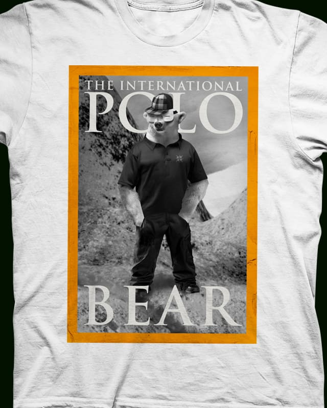 international polo bear by cintrao on Threadless