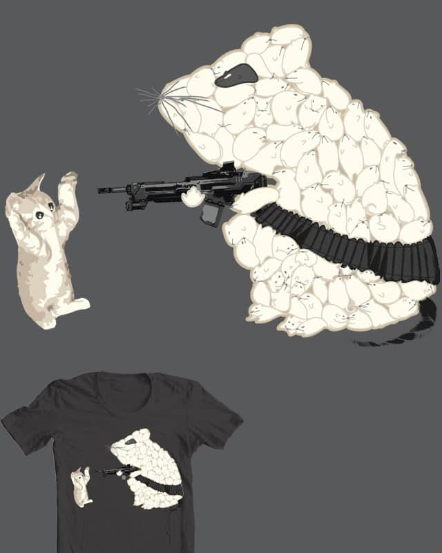 Sworn enemies by Ooi_D on Threadless