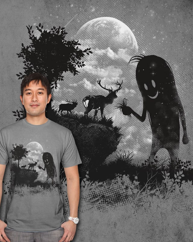 The Friendly Visitor by ramil21 on Threadless