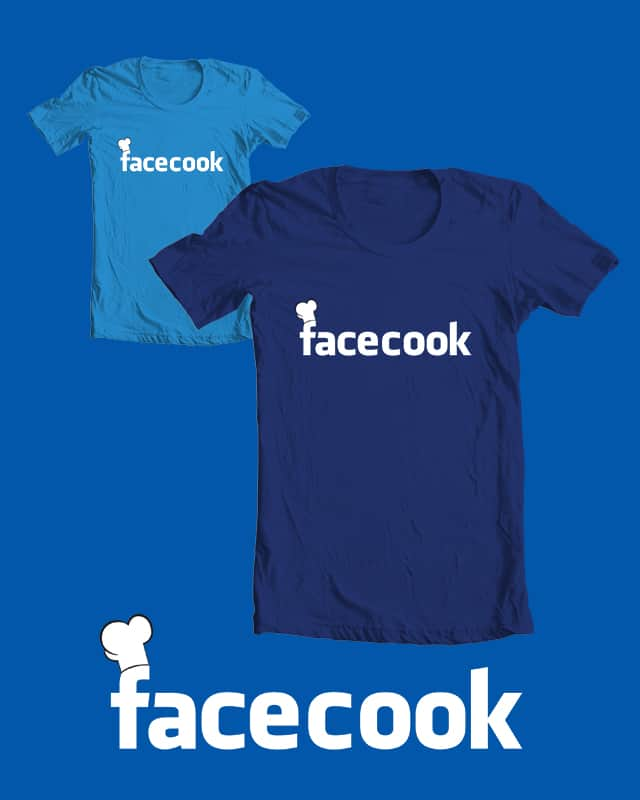 Facecook by HighDesign on Threadless