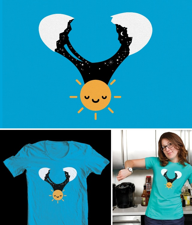 Crack of Dawn by Monkey X on Threadless