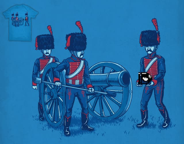 Napoleon's Cannon Shell by ben chen on Threadless