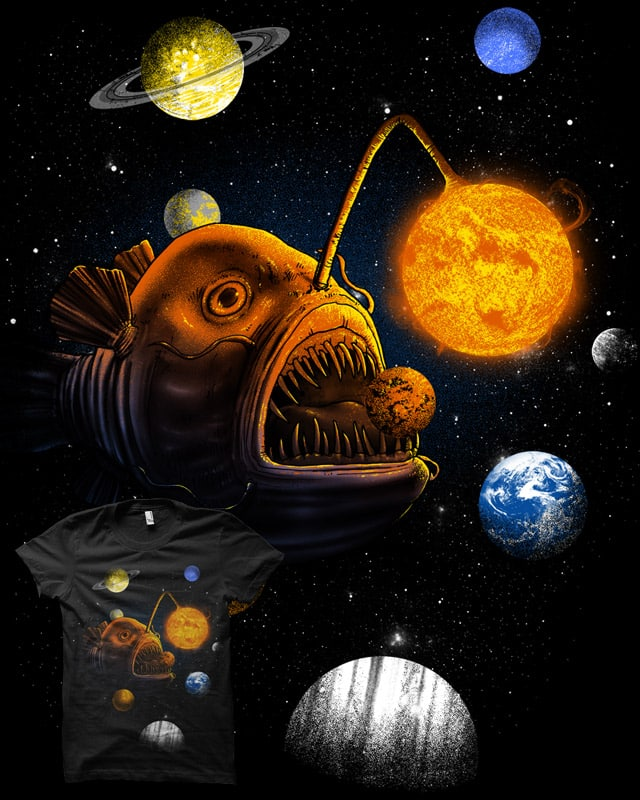 Cosmic Angler by biotwist on Threadless
