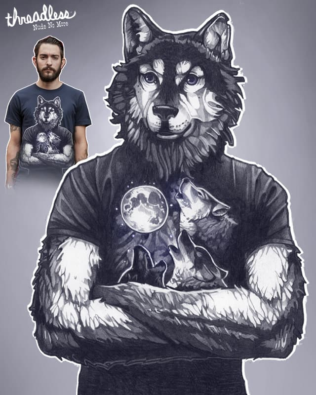 4 Wolf Moon by TimShumate on Threadless
