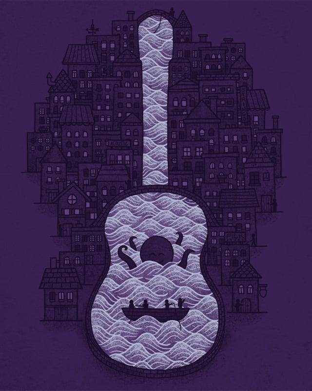 guitar town by boostr29 on Threadless