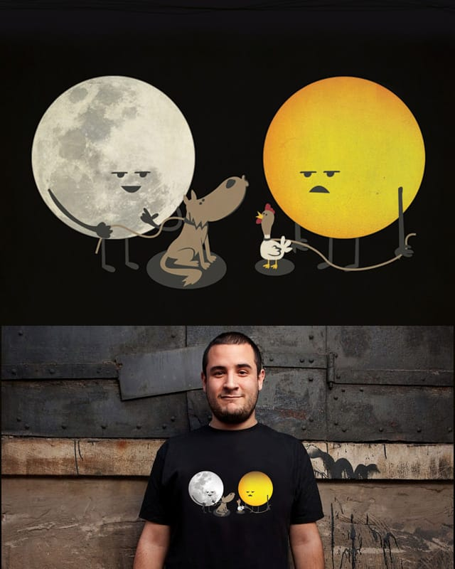moon is better than the sun by ndikol on Threadless