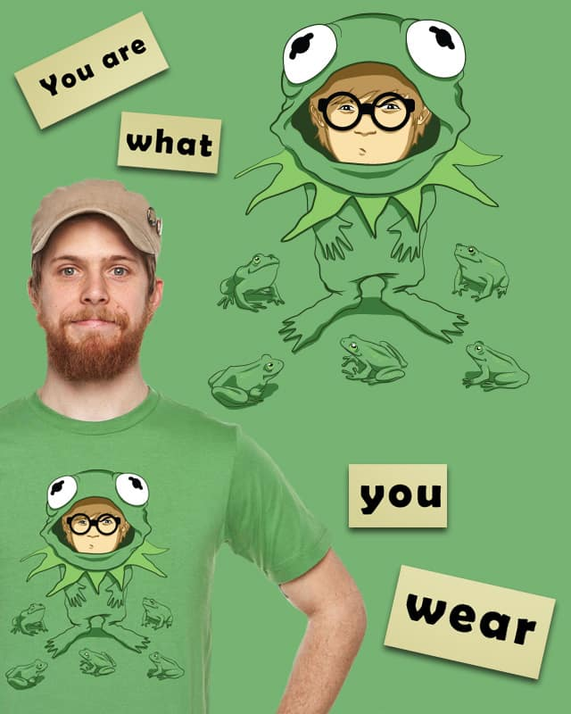 You are what you wear by Marcos Moraes on Threadless