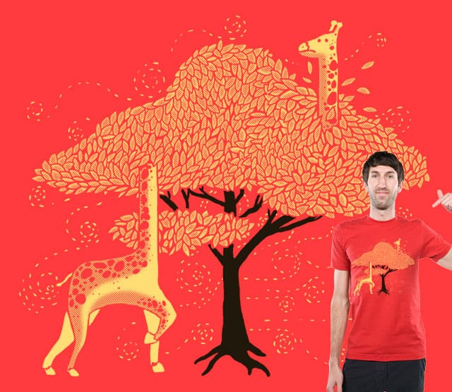 Lost in Africa by tobiasfonseca on Threadless