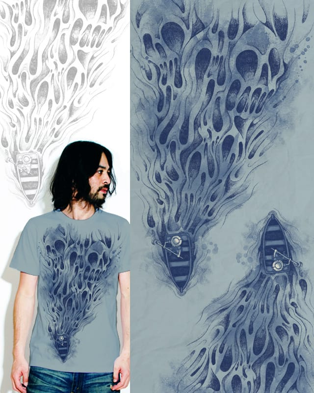 sail to the death sea by StevenT on Threadless
