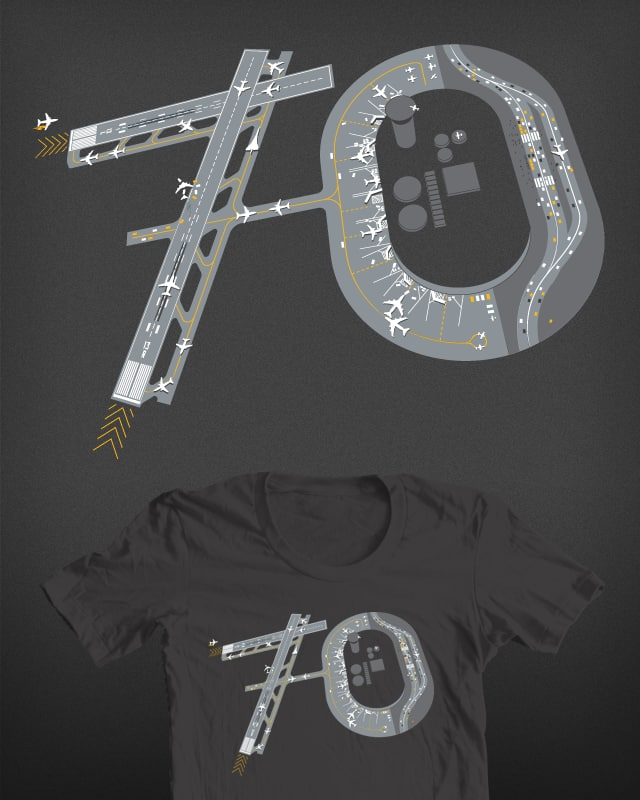 Airport 70 by manlooon on Threadless
