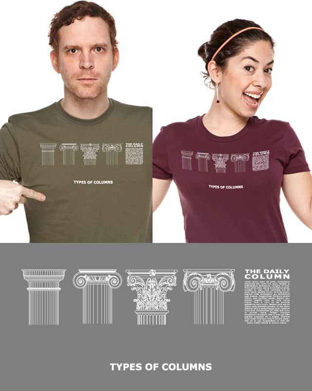 types of columns ... by mudmonei on Threadless