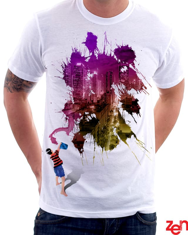 Street Painter by Zen Studio on Threadless