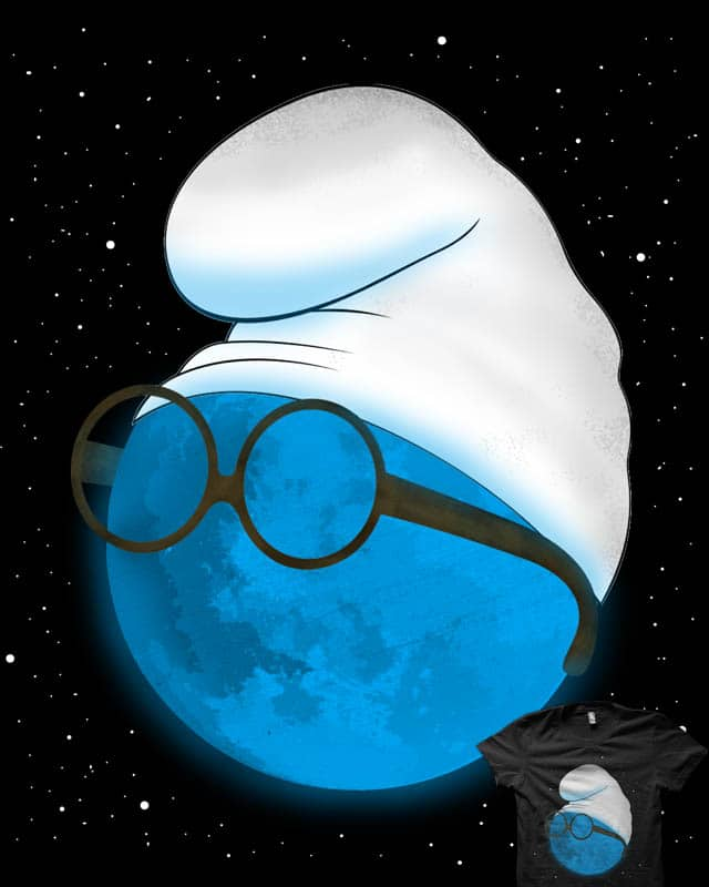 Once in a Blue Moon by rejagalu on Threadless