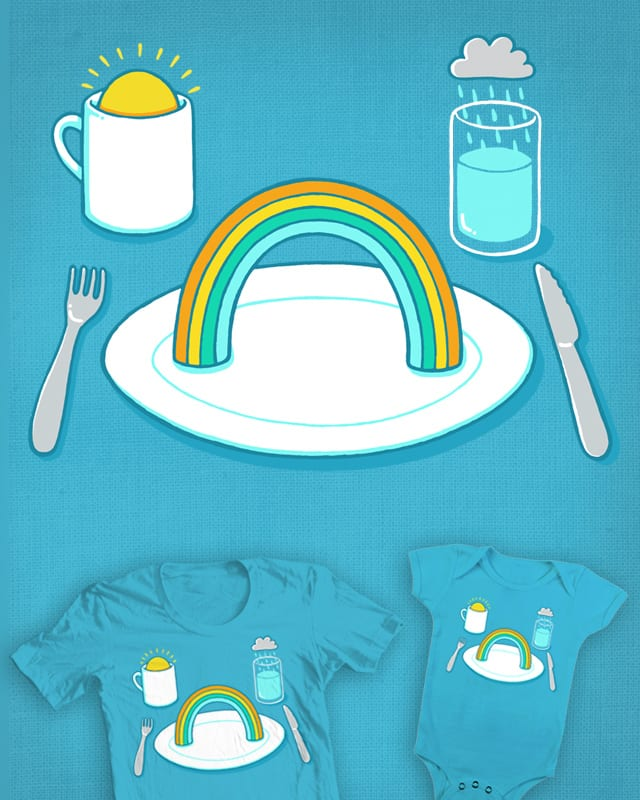 Start the day with a rainbow by ThePaperCrane on Threadless