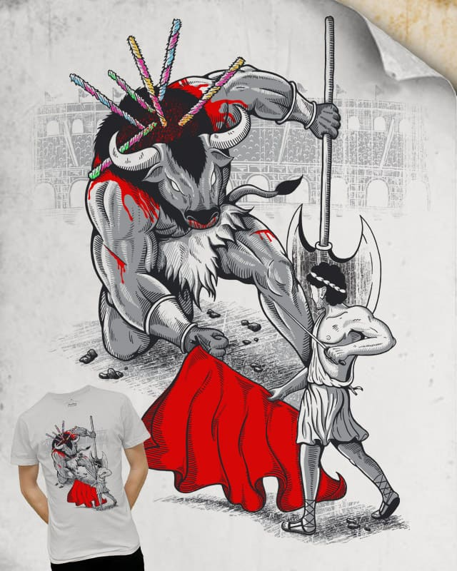 Ancient Matador by Zen Studio on Threadless