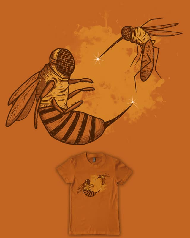 Fencing by eQuivalent on Threadless