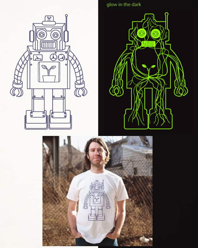 robot bio energy by ndikol on Threadless