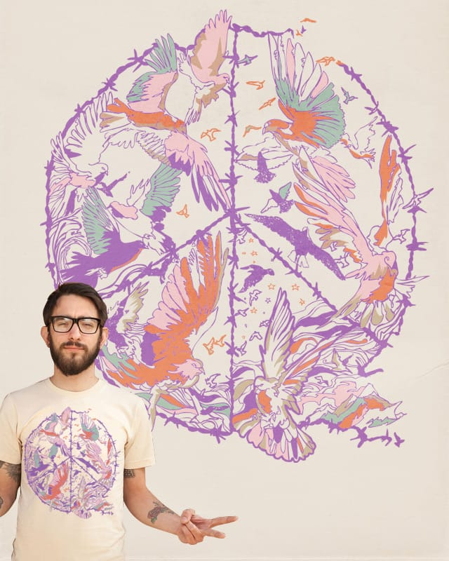 Colourful of Peace by huebucket on Threadless