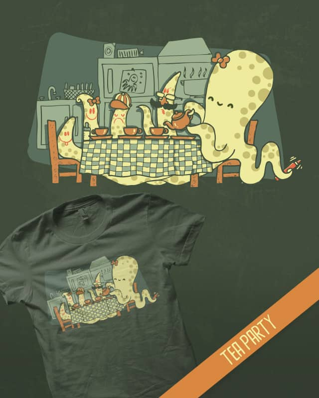 Tea Party by walmazan on Threadless