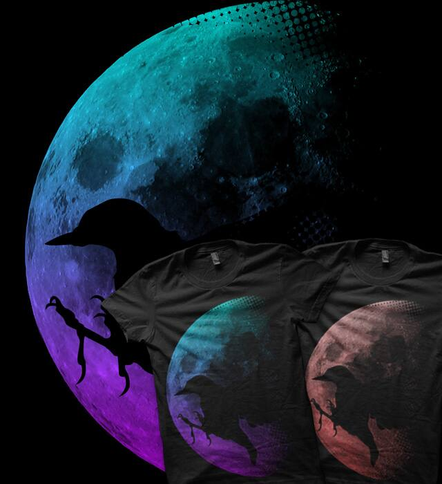 Midnight Flight by Waste Factory on Threadless