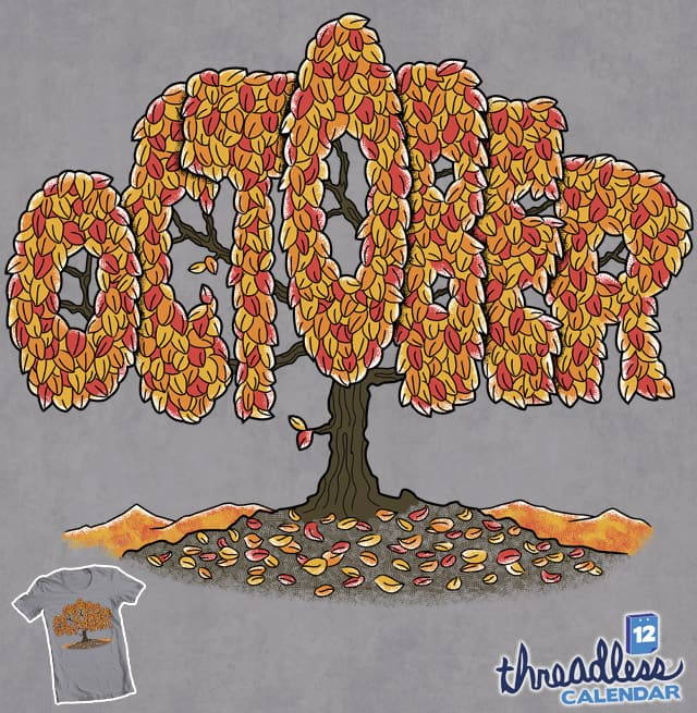October Tree by Goto75 on Threadless