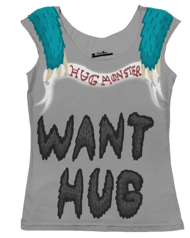 Hug Monster Want Hugs by Akayuri on Threadless