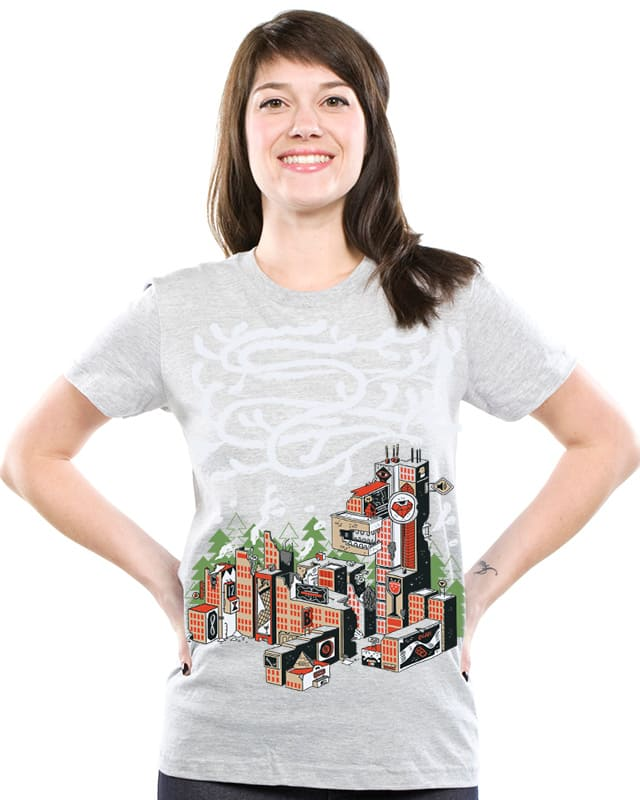 Ruins of Deertown USA by BurritoGoblin on Threadless